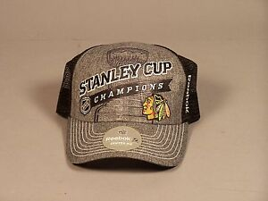 Chicago-Blackhawks-2013-Stanley-Cup-Champions-Cap-New-with-Tags-One-Size