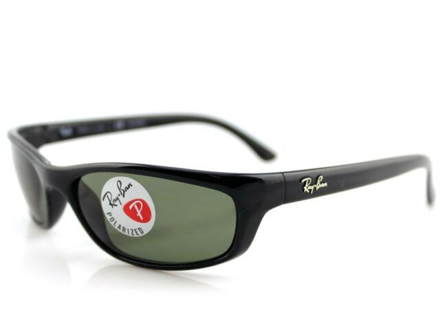 3b99321eba POLARIZED NEW Authentic RAY-BAN Predator Black Green Sunglasses RB 4115  601 9A