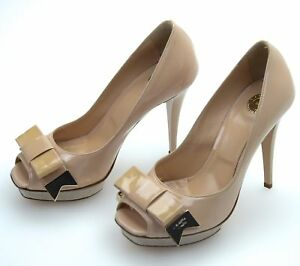 nuovi stili 0a11f 0be9a Details about ELISABETTA FRANCHI WOMAN OPEN TOE HIGH HEELS DECOLTE SHOES  CODE SA-320-6155-V275
