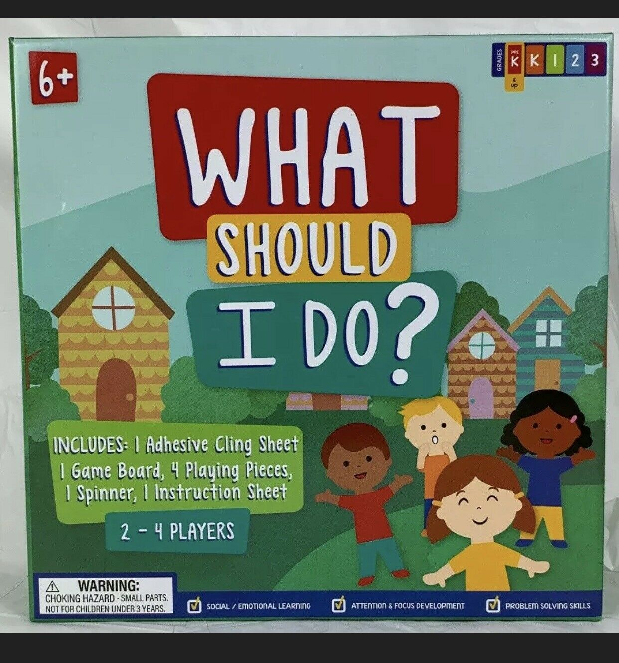 What Should I Do? Educational Board Game New 2