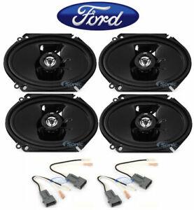 Image Is Loading Jvc 6x8 034 Front Rear Factory Car Speaker