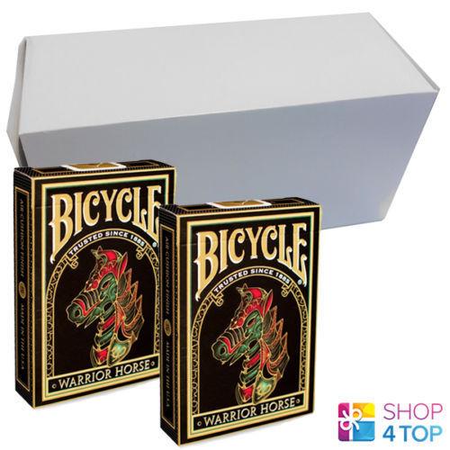 12 ponti bicycle warrior horse carte da gioco BOX CASE EDIZIONE LIMITATA NUOVO