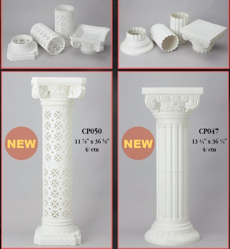 Grand standing Romain Grec piliers colonnes Caoutchouc incassable Jardin Mariage