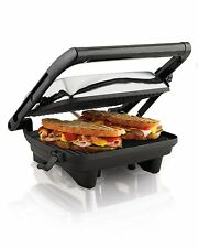 Electric Sandwich Toaster Bread Toast Grill Panini Maker Pancake Waffle Griddle!