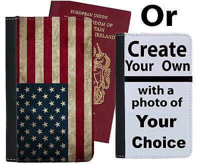 Bandiera Americana Custodia Per Passaporto America Usa Stati Uniti Custodia Cover Strisce B775-mostra Il Titolo Originale