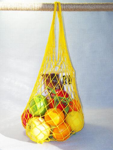 vintageoriginalsoviet neuf avec étiquettes Mesh Net Réutilisable écologie Shopping Sac 12pcs