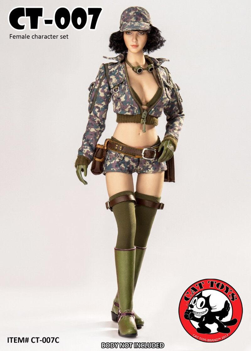 CAT giocattoli CT007 Final Fantasy Cindy Cindy Cindy Female Character Set azione cifra No Body Ne e2fe76