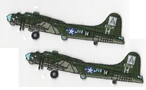 WWII-US-ARMY-AAF-B-17-BOEING-FLYING-FORTRESS-BOMBER-SET-Iron-on