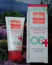 MIXA CC cream - triple efficacy anti-redness to soothe correct & unify - 50 ml.