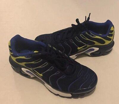 Nike Air Max Plus (GS) Binary Blue Tuned 655020 407 Size 5Y | eBay