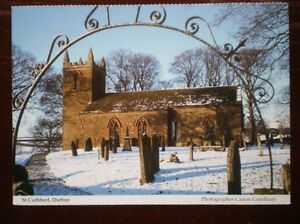 POSTCARD-CUMBRIA-DUFTON-ST-CUTHBERT