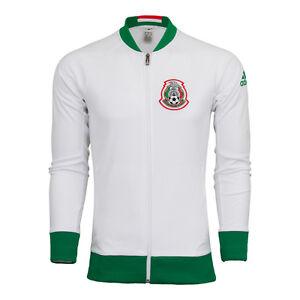 a16494ee2 Image is loading ADIDAS-MEXICO-ANTHEM-JACKET-2016-17-White
