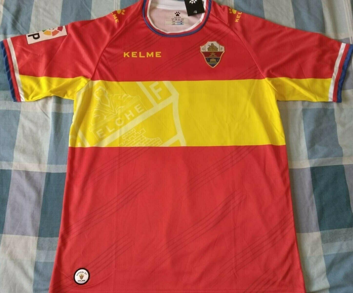 Camiseta Shirt Maillot ELCHE Kelme away Season 2015 Diuominiione M nuovo wtags