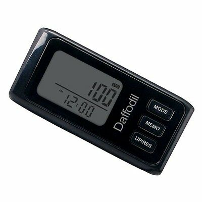 Daffodil HPC650 - 3D Walking Pedometer - Step Counter with Calorie Counter, Dist