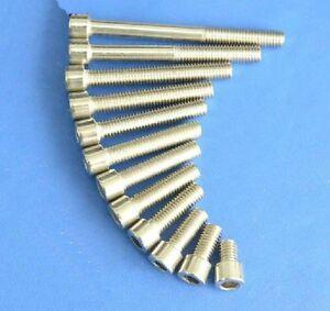 2-pieces-M8x20-Titanium-Screws-Button-Head-6AL4V-Aerospace-Grade-M8x20-Bolts