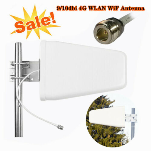 Signal Booster Yagi Directional WideBand Log Periodic Antenna SMA for Cell Phone
