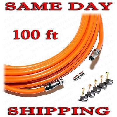 RG11 Cable 100 FT Underground COAX DROP INDOOR OUTDOOR Direct Burial w GEL 100/'