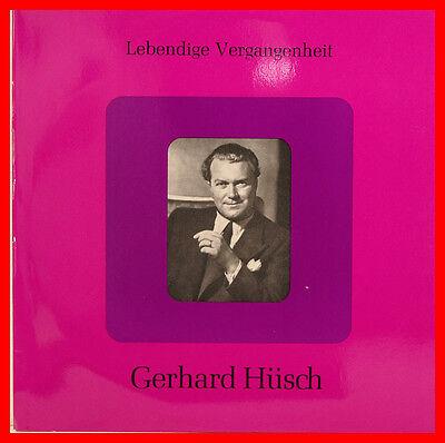 """GERHARD HÜSCH LEBENDIGE VERGANGENHEIT 12"""" LP (B829)"""
