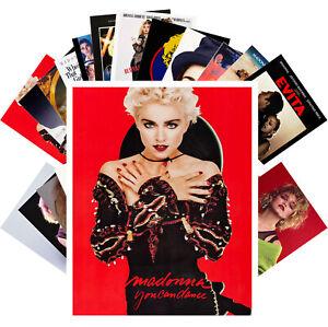 Postcards-Pack-24-cards-Madonna-Pop-Music-Vintage-Posters-Photos-CC1286