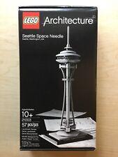 NEW SEALED LEGO 21003 ARCHITECTURE SEATTLE SPACE NEEDLE WASHINGTON 9 INCH TALL