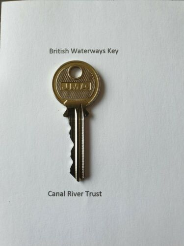 2 x BRITISH WATERWAYS FACILITY KEY   Canal and River Trust
