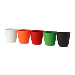 3-Ikea-BYGEL-Containers-ORDER-3-THE-SAME-OR-MIX-COLORS-Red-or-Orange-Available