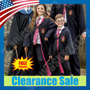 Clearance-Harry-Potter-Costume-Hogwarts-Child-Cosplay-Robe-Halloween-Party