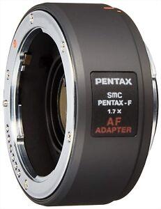 SMC-Pentax-F-1-7x-AF-Adapter-1-7-x-Telekonverter-Objektiv-NEU