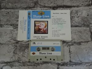 DAVID-BOWIE-Hunky-Dory-Cassette-Album-Tape-Mona-Lisa-Saudi-Issue-3290