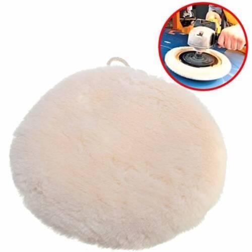 9 inch Soft Sponge Car Polisher Waxing Polishing Buffer Pad Lambs Wool Cleaner 7