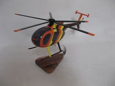 MD500 Hughes 369 Magnum PI  Helicopter Desktop Wood Model