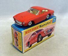 Matchbox Superfast MB75 Ferrari Berlinetta with SILVER Grille