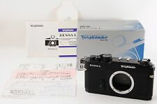 Voigtlander BESSA L Black 35mm SLR Film Camera       (2974)