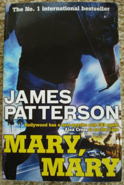 """MARY, MARY"" BY JAMES PATTERSON Paperback worth £8.99"