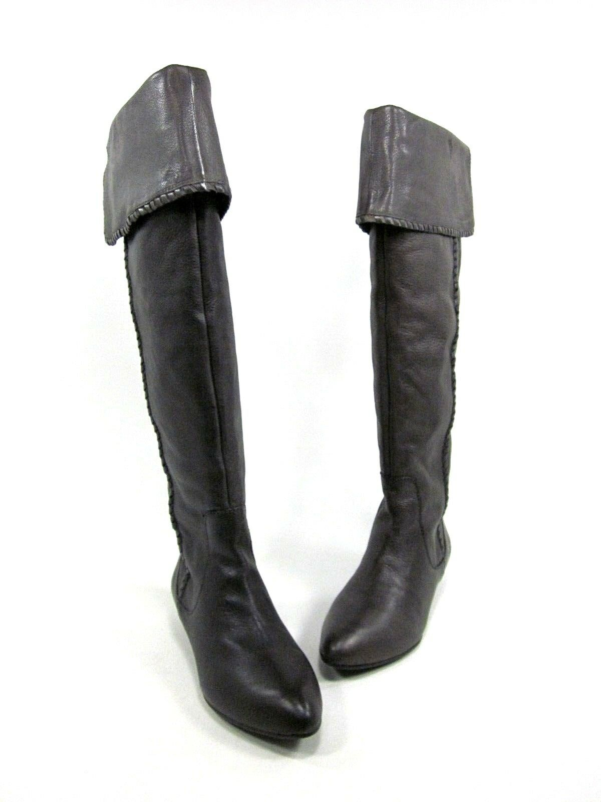LUCKY BRAND WOMEN'S GAI BOOT, ROCK, US SIZE 5.5, MEDIUM, NEW DISPLAY W O BOX