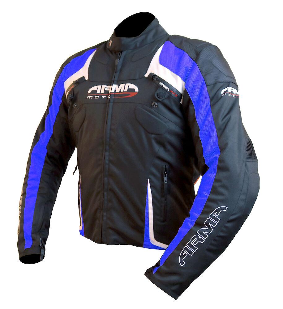 ARMR MOTO eyoshi Impermeable Chaqueta moto negro   Azul Azul Azul Invierno MOTO Deportivo 8e3ec6