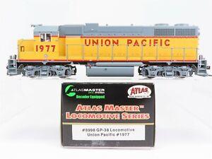 HO-Scale-Atlas-Master-8998-UP-Union-Pacific-GP38-Diesel-Locomotive-1977-w-DCC