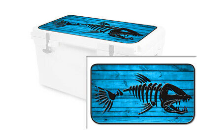 USATuff Wrap Decal Accessories Lid Kit fits RTIC 65 Cooler USMC Wood