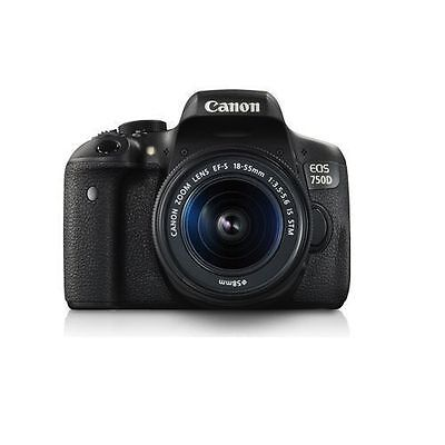 Canon 750D with 18-55mm Kit