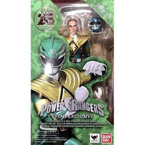 Sh Figuarts Ranger Vert Power Rangers Figurine Action Exclusive Sdcc 2018 Bandai