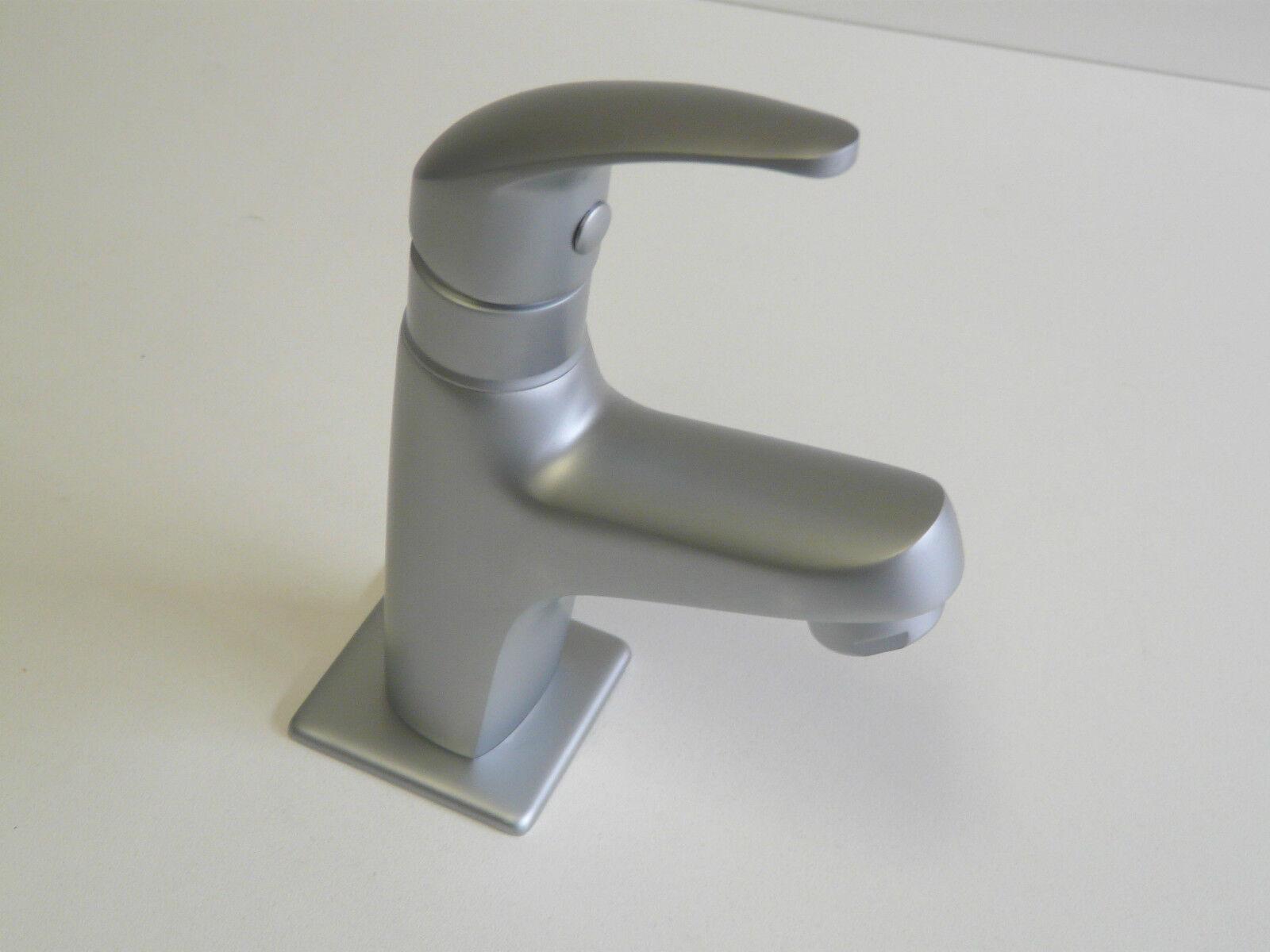 Kaltwasserarmatur Chrom-Matt, Standventil, Waschtischarmatur, VICO