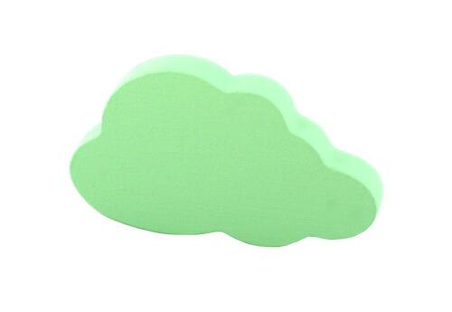 2x Cloud decorative drawer knobs Kids dresser pulls Nursery cabinet door handles