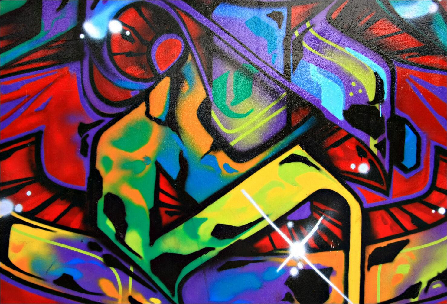 Pegatinas de Parojo Adhesivo Decoración  Graffiti Tag - Ref 1502 (16 Tallas)