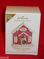 Hallmark 2011 WELCOME CHRISTMAS VIP Repaint Special Edition Ornament