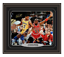 Magic-Johnson-Signed-amp-Custom-Framed-Lakers-16x20-PSA-DNA-COA-Jordan-Autograph thumbnail 1