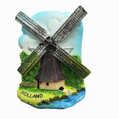 3D Holland Netherlands fridge magnet Souvenir Gift Magnetic Sticker