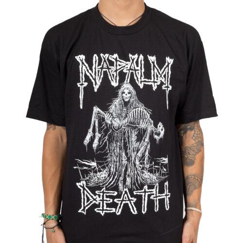 Authentic Napalm Death Band reaper squelette métal T-Shirt S-2XL Neuf