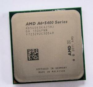 AMD A6-5400 Series AD 540 KOKA 23HJ Dual-Core 3.6GHz Socket FM2 CPU + Radeon GPU