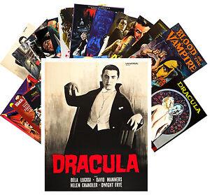 Postcards-Pack-24-cards-Vampires-Dracula-Vintage-Horror-Thriller-Movie-CC1068