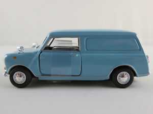 Cararama-Hongwell-251ND-015-Mini-Panel-Van-1960-in-hellblau-1-43-NEU-unbesp